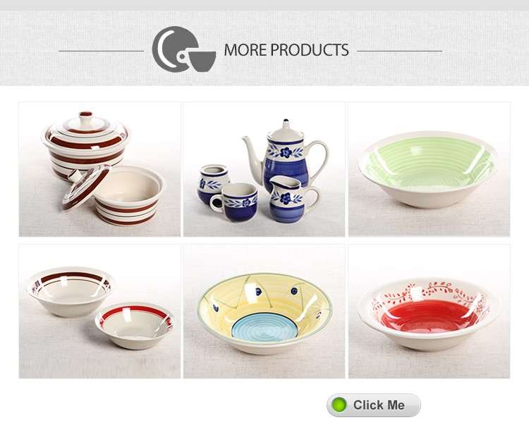 7''--9''cheap color brand soneware disposable soup bowl from china
