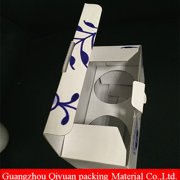 Factory professional paper coffee tea cup and saucer packaging boxes