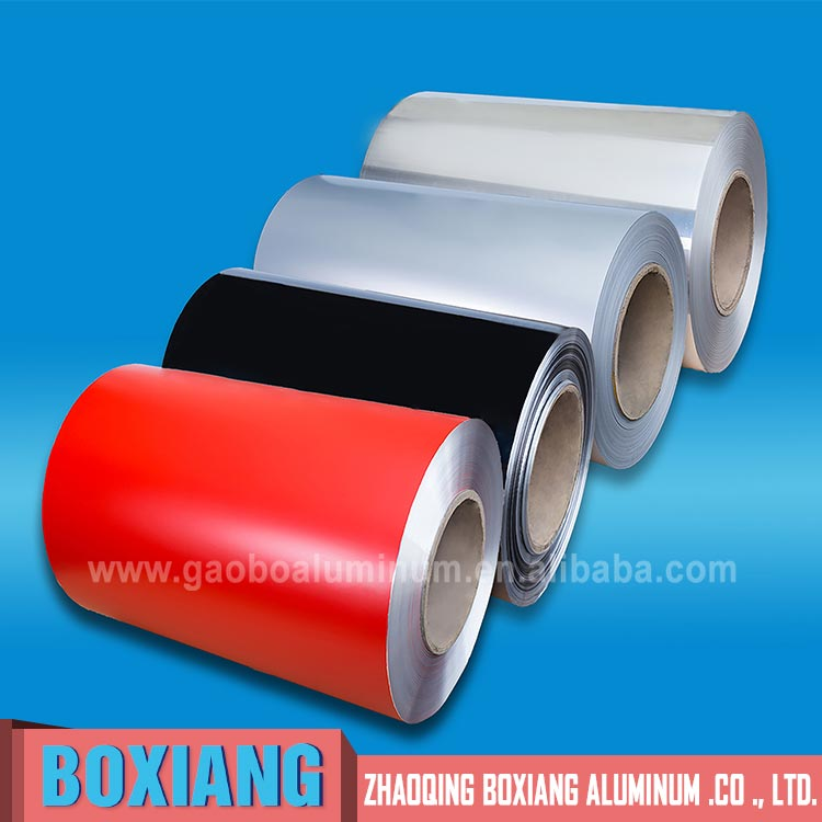 color coated aluminum coil manufacturer