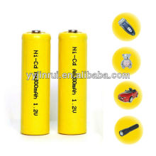 america NiCd Rechargeable battery AA 300mAh 1.2V