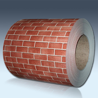 Brick grain ppgi roofing metal siding for building materials