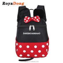 Royadong 2017 New Style Mickey Mouse Minnie Large-capacity Nylon Kindergarten School Bag mini backpack