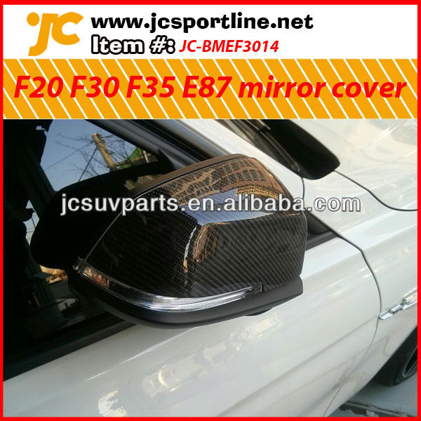 For BMW F20 F30 F35 E87 carbon fiber wing mirror cover