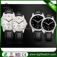 2016 Newest Hot Japan Movt Quartz Watch Stainless Steel Pair Couple Watch