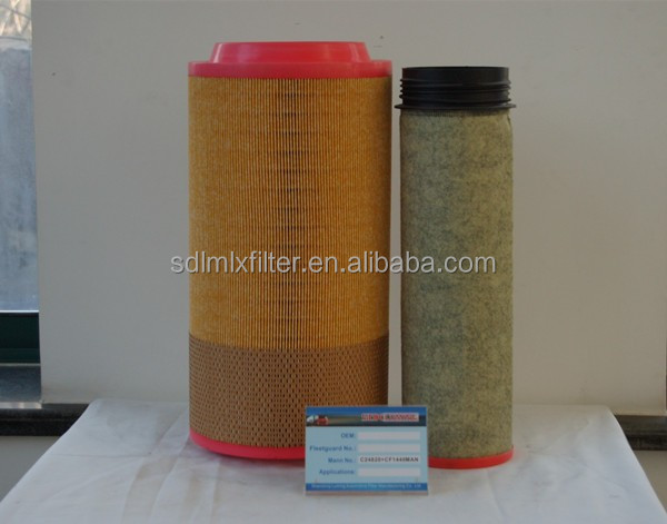 C24820 and CF1440 filter air,snow fiber filter paper,carpet inner filter