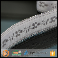 High quality durable skin-friendly spandex jacquard bra strap webbing