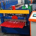 910 trapozoidal / ibr panel sheet roofing roll forming machine