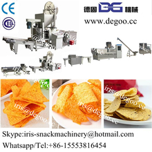 Corn chips /Dorito chips /Tortilla chips extruding equipment /processing line made in China Jinan DG machinery co.,ltd