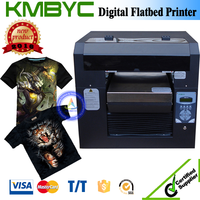 a3 size high speed fabric direct image digital flatbed printing machine