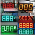 with cabinet led fuel sign price petrol gas station screen