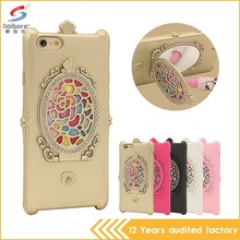 2016 New design tpu phone case with mirror for iphone5