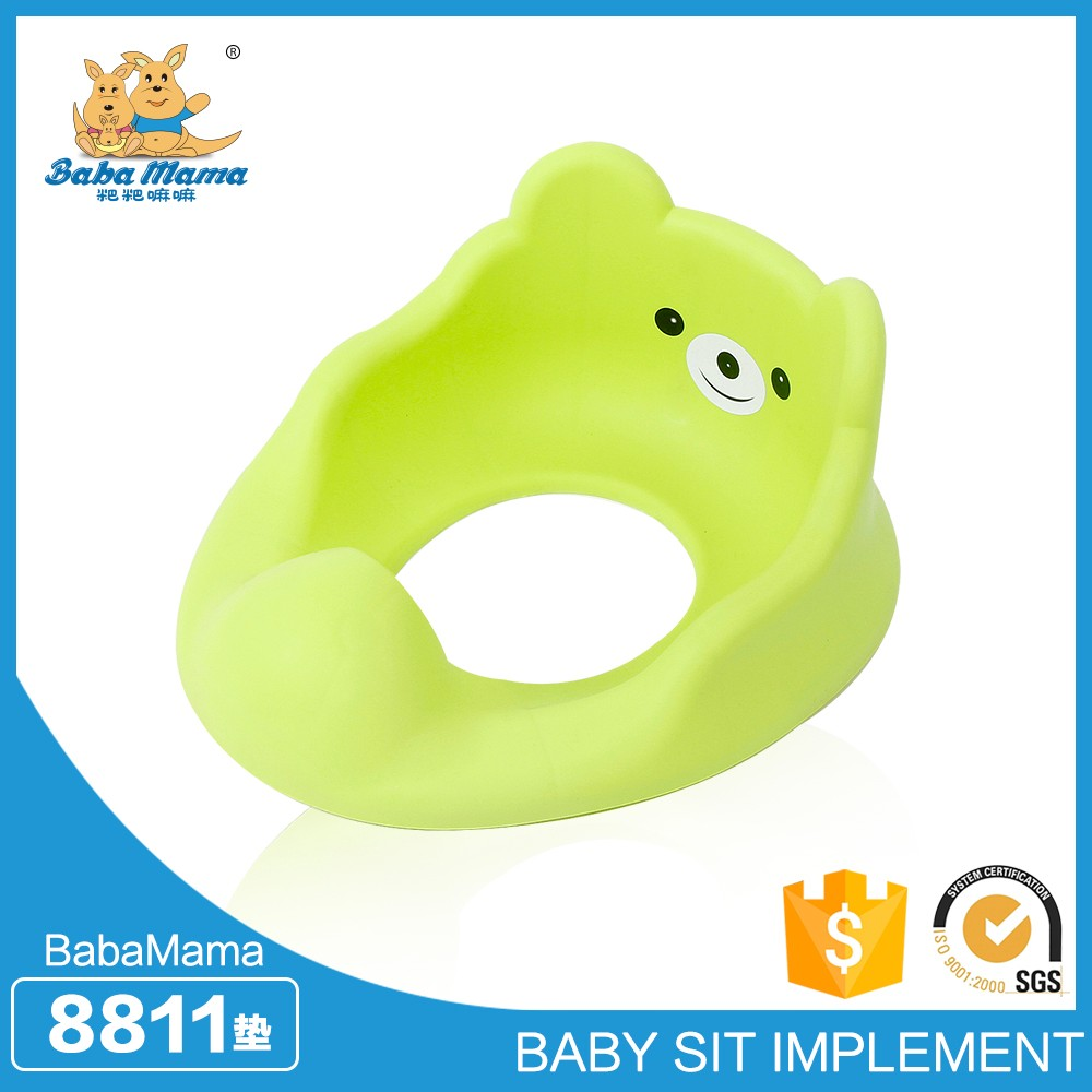 pvc design cartoon baby toilet seat cover for promotion