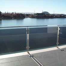cut to size glass fence/railing/balustrade laminated toughened glass sheets for sale