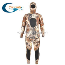 2-7mm neoprene caça submarina long john two pieces wetsuits