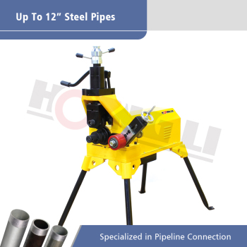 YG12D Hydraulic Pipe Grooving Machine