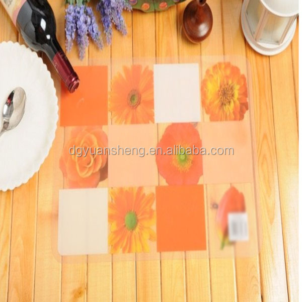 designer of pp place table mat for kitchen waterproof