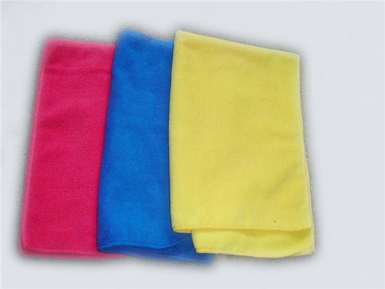 New selling trendy style colorful microfiber towel car wash cloth