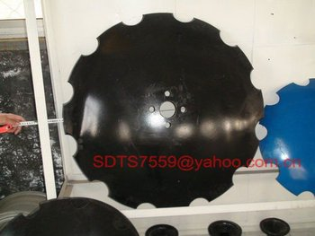 Harrow's notched disc blade 36 inch