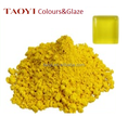 Bright yellow color enamels for crystal glass mosaic decor