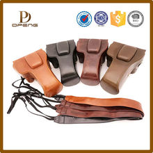 promotional leather slr camera bag for canon 600d