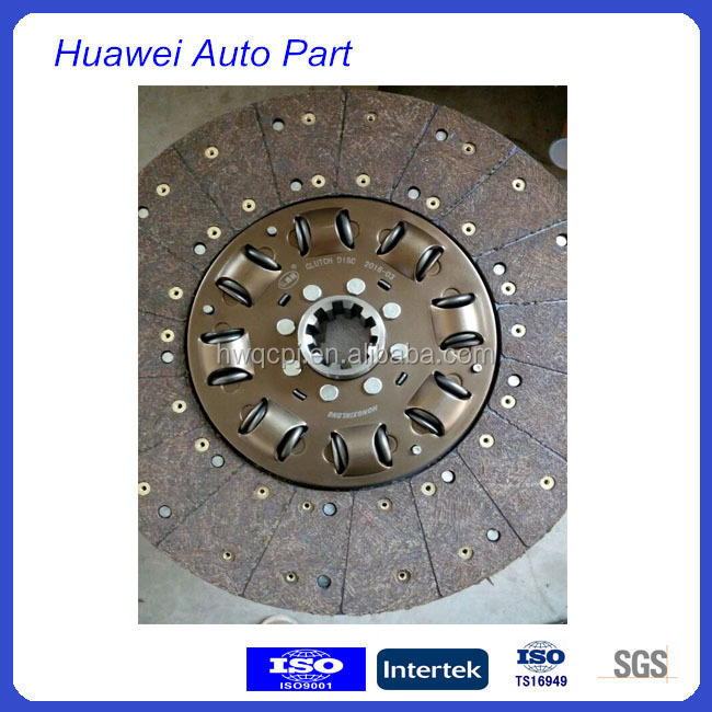 Donfeng Tianlong Clutch Disc With Eight Springs