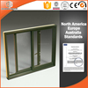 Small office wood aluminum composite sliding window by window and door factory