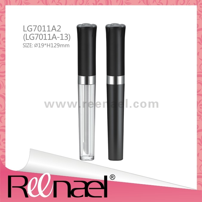 ABS+AS,PETG Lip gloss container plastic clear base Mascara container eyeliner bottle