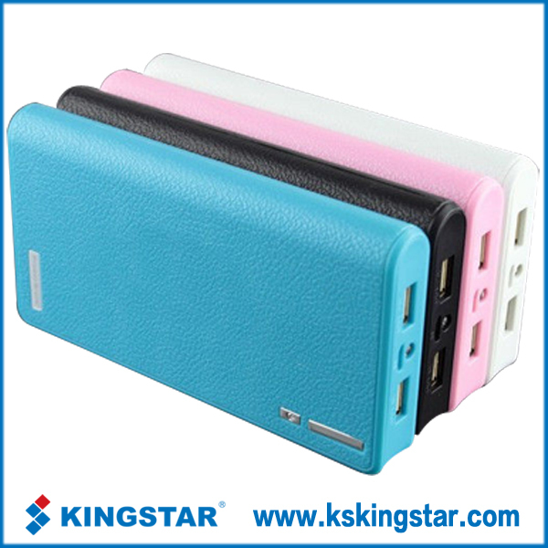 portable pocket dual usb power bank 5600
