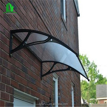 plastic awnings material rain protection in window and door