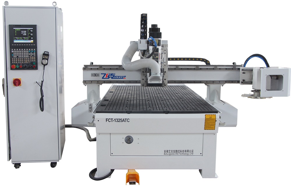 Atc 8 Cutters Woodworking Machine 1325 Wood Cnc Router Machine For Wood Furniture Cnc Wood