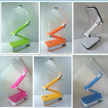 Folding solar rechargeable led desk lamp, mfga desk lamp,led table lamp