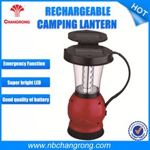 Hot sales charge battery small ABS Mini Solar Flashlight Led Camping Lantern