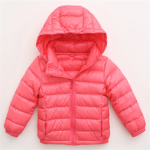 New Design High Quality Ultralight Children Down Jacket