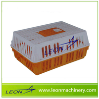 Leon series broiler chicken plastic cage for transfer for sale