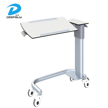High-grade Hospital Adjustable Height Over Bed Table Cabinets