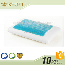 Konfurt Gel Memory Foam Pillow Traditional Shape