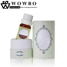 Custom logo printed cream bottle essential oil can packaging tube box