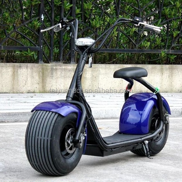Harley Electric Car Scooters Electric E-Bike Motorcycle 60V 1000W Lithium Powerful Battery motos