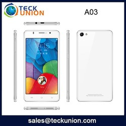A03 5.0inch dual sim high quality cell phone unlocked android 4.42 mobile