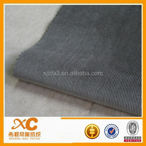 patterned cotton spandex corduroy fabric for jersey