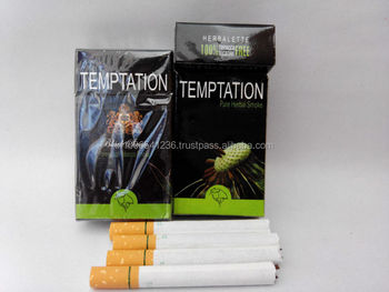 "Clove Cigarettes - "" Temptation ""."