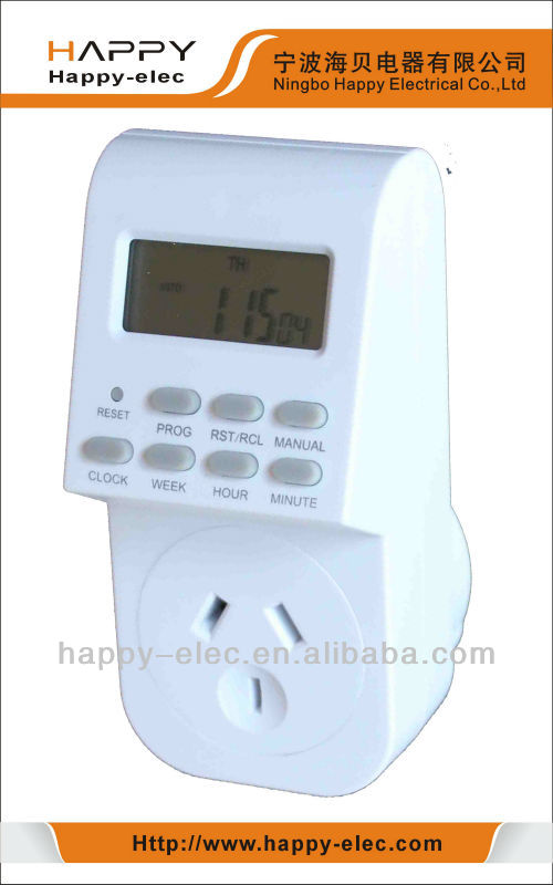 Special for Australian Weekly Programmable Digital Timer