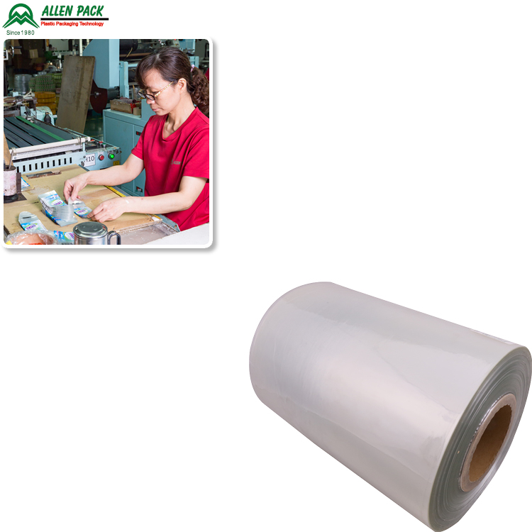 Alibaba Top Manufacturer handle cold water soluble pva film,pet/cpp film blue