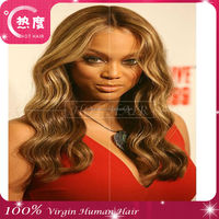 Qingdao 2015 new beauty products hot clip sex wet and wavy peruvian human hair extensions