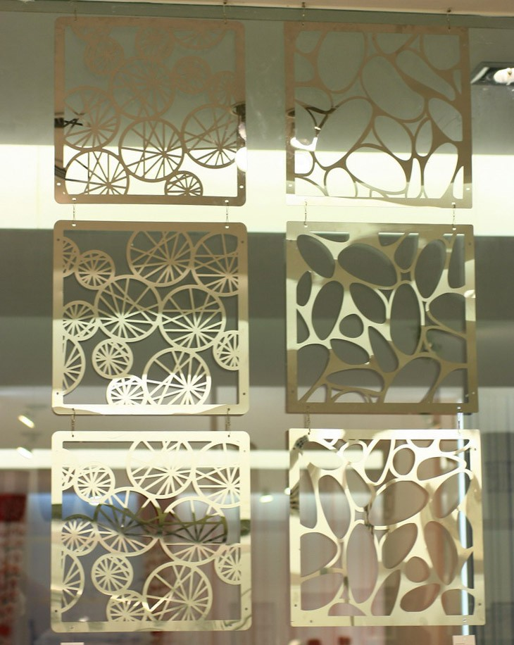 customized design stainless steel screen interior decoration