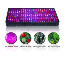 The largest led grow light 10*10 ft cover area 240*5w high power led grow lights equivalent 3*1000 watt HPS for herbal medical