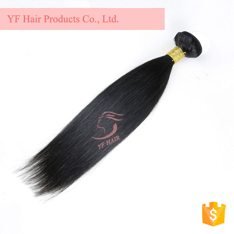 Hot Selling Silky Straight Guangzhou Factory Grade 8A Virgin Brazilian Hair Weaves