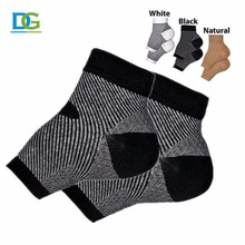 double grace high quality Foot care medical compression ankle sock for health care