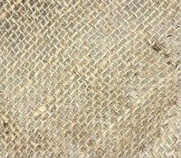 100% Natural wedding table decoration jute cotton blend fabric