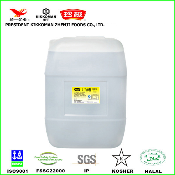 Chinese high quality brewed industrial 25L drum rice vinegar